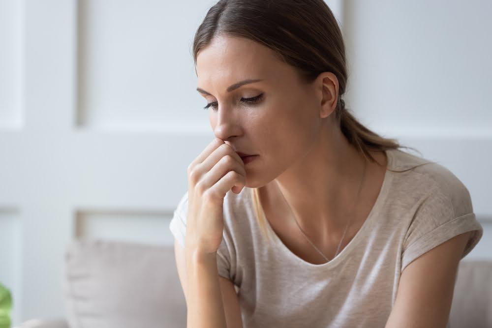 femme anxiété