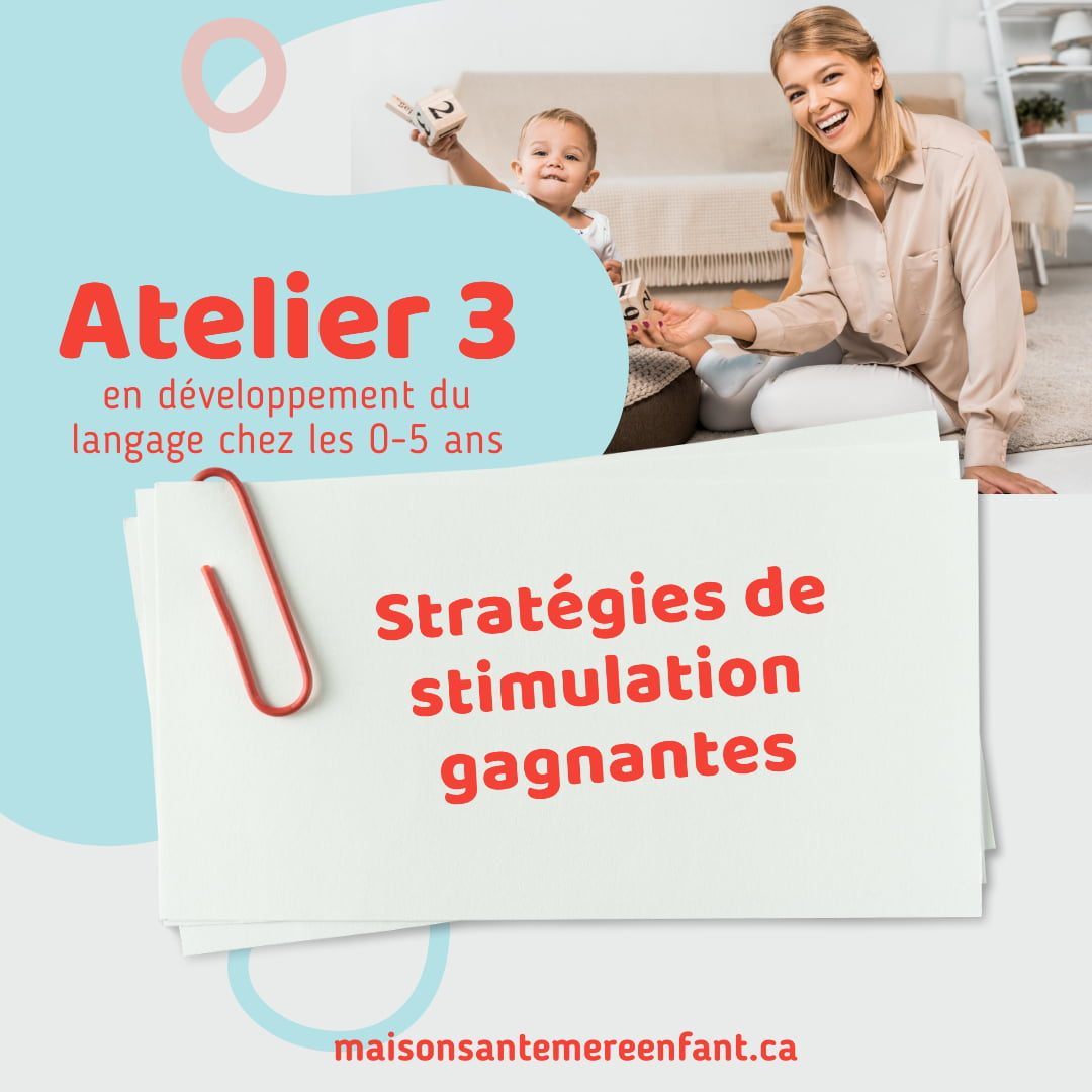 Ateliers individuel 3 - 0 - 5 ans