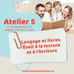 Ateliers individuel 5 - 0 - 5 ans
