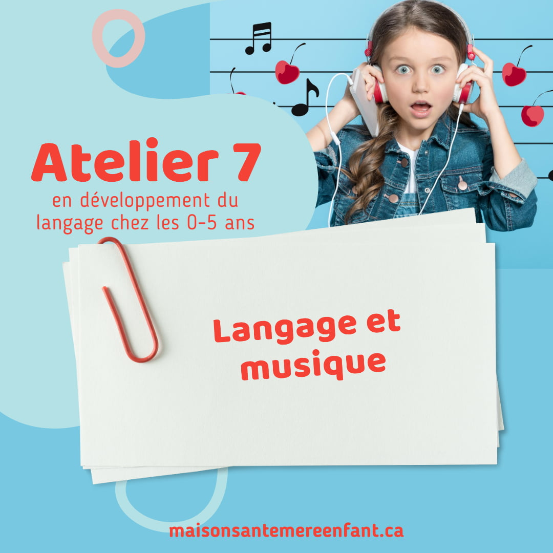 Ateliers individuel 7 - 0 - 5 ans